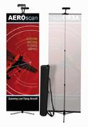 Telescoping Bannerstands