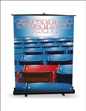Large rectractable bannerstands