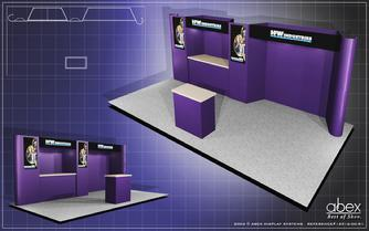 20' Expose fabric panel display