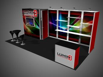 Backwall, Graphics, Rental